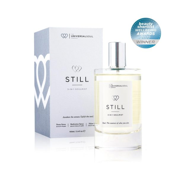 STILL Soul-Mist, 3-in-1 Room Spray and Pillow Mist is awarded an Editors Choice in the Beauty Shortlist Wellbeing Awards 2020