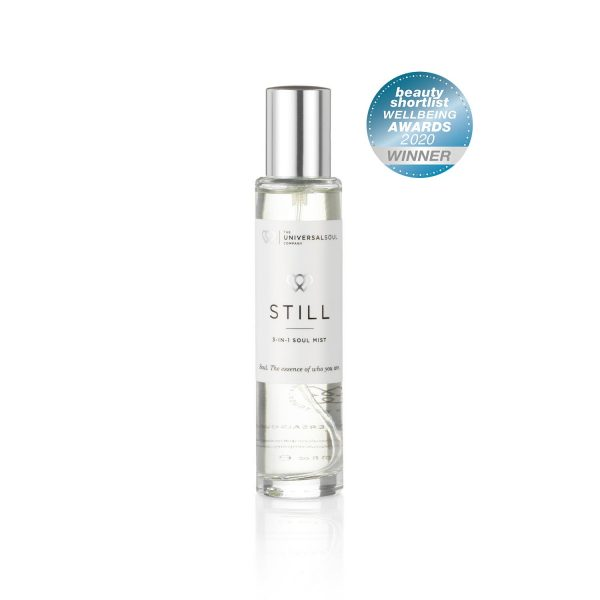 STILL Soul-Mist, 3-in-1 Room Spray and Pillow Mist is awarded an Editors Choice in the Beauty Shortlist Wellbeing Awards 202
