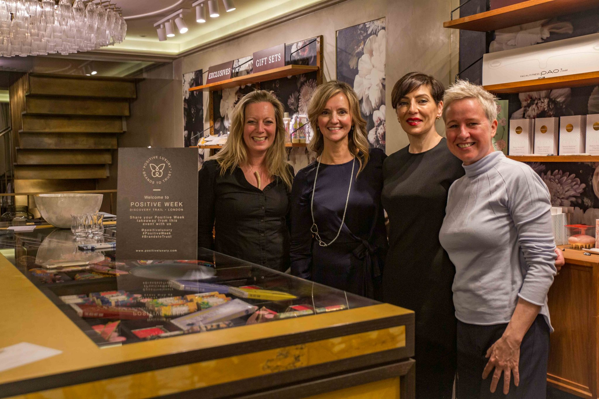Highlights from the Positive Luxury Trail in London New Article - Sara Griffiths - The Universal Soul Company
