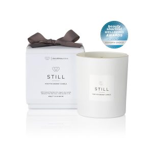 STILL Positive Energy Candle is awarded an Editors Choice in the Beauty Shortlist Wellbeing Awards 2020