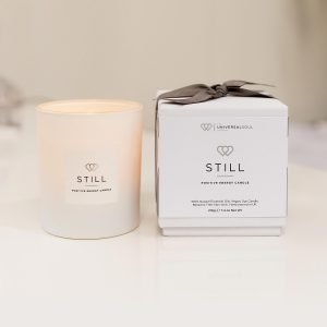 STILL Positive Energy Candle 30cl - Best Natural Candle - The Universal Soul Company