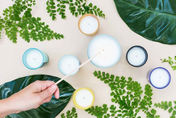 Positive Energy Candle STILL - Feature Image for Best candle for Cosy Night in Article Liz Earle Wellbeing - Universal Soul Company - image noelle-australia-6ElnH17iD-8-unsplash-scaled